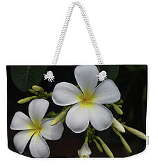 Weekender Tote Bag featuring the photograph Fragrance Of Hawaii by Pamela Walton