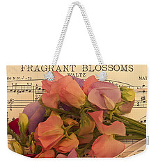 Fragrant Blossoms Weekender Tote Bag by Sandra Foster