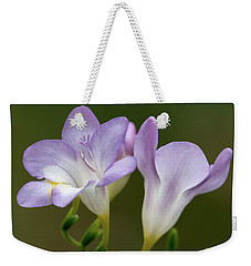 Fragrant Freesias 2 Weekender Tote Bag