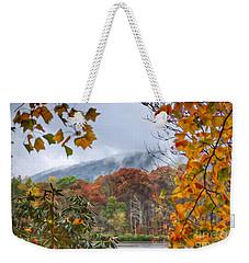 Framed By Fall Weekender Tote Bag