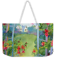 Framed By The Roses Weekender Tote Bag