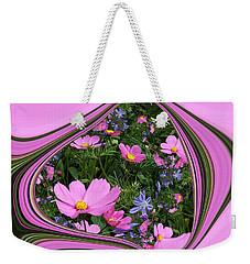 Framed Cosmos Weekender Tote Bag