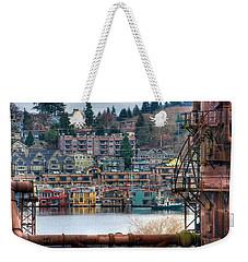 Framed In Seattle Weekender Tote Bag
