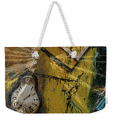 Framed Time Weekender Tote Bag by Kevin Blackburn