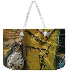 Weekender Tote Bag featuring the digital art Framed Time by Kevin Blackburn