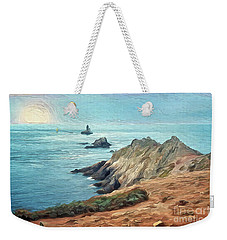 France - La Pointe Du Raz Weekender Tote Bag