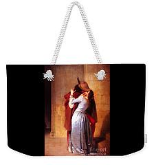 Francesco Hayez Il Bacio Or The Kiss Weekender Tote Bag