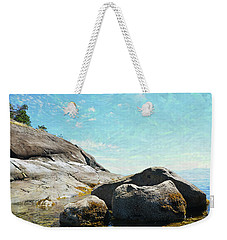 Francis Point - Shore Weekender Tote Bag by Ed Hall