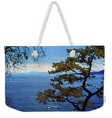 Francis Point - View Weekender Tote Bag by Ed Hall