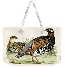 Francolin Weekender Tote Bag by English School