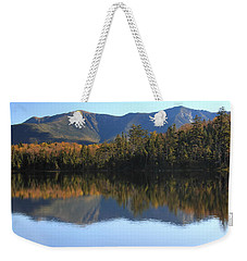 Franconia Ridge From Lonesome Lake Weekender Tote Bag by Roupen  Baker