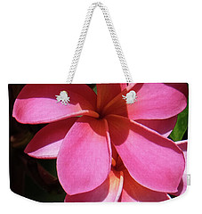 Frangipani Weekender Tote Bag by Mini Arora