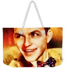 Frank Sinatra, Hollywood Legend By John Springfield Weekender Tote Bag by John Springfield
