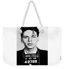 Frank Sinatra Mugshot Weekender Tote Bag