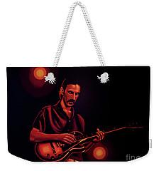 Frank Zappa 2 Weekender Tote Bag by Paul Meijering
