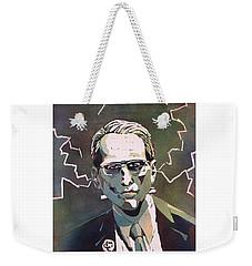 Weekender Tote Bag featuring the painting Frankencrory by Ryan Fox