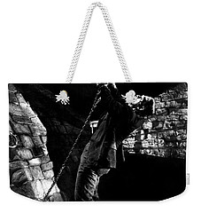 Frankensteins Monster Chained The Castle Played By Boris Karloff Weekender Tote Bag