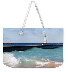 Frankfort Lighthouse Weekender Tote Bag