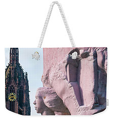 Weekender Tote Bag featuring the photograph Frankfurt 10 by Steven Richman
