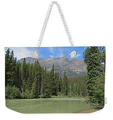 Fraser River Weekender Tote Bag