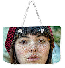 Freckle Face Closeup  Color Version Weekender Tote Bag