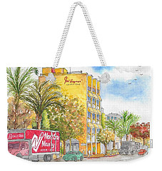Fred Hayman Building, Cannon Dr And Clifton, Beverly Hills, Ca Weekender Tote Bag