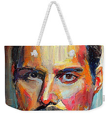 Freddie Mercury Colorful Portrait Weekender Tote Bag