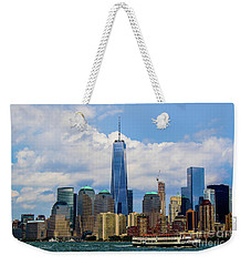 Freedom Tower Nyc Weekender Tote Bag