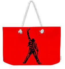 Weekender Tote Bag featuring the digital art Freddy Krueger by Christopher Meade