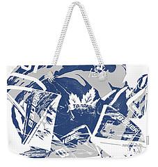 Frederik Andersen Toronto Maple Leafs Pixel Art 2 Weekender Tote Bag