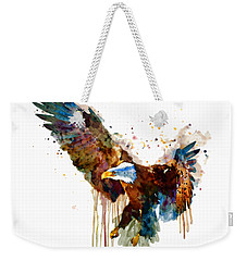 Free And Deadly Eagle Weekender Tote Bag