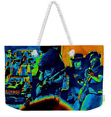 Free Bird Pastel Oakland 1 Weekender Tote Bag