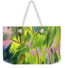 Free Feeling Weekender Tote Bag by Meryl Goudey
