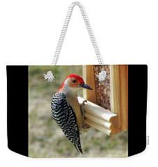 Free Lunch Weekender Tote Bag