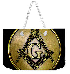 Free Masons - Knights Templar Weekender Tote Bag by Paul W Faust - Impressions of Light