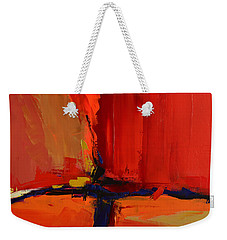 Weekender Tote Bag featuring the painting Free Mind - Art By Elise Palmigiani by Elise Palmigiani