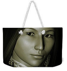 Weekender Tote Bag featuring the digital art Free Spirit 2 by Shadowlea Is