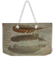 Free Spirit Weekender Tote Bag by Toni Hopper