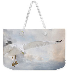 Weekender Tote Bag featuring the photograph Free To Fly by Robin-Lee Vieira