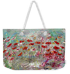 Free Wild Poppies Weekender Tote Bag