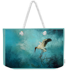 Weekender Tote Bag featuring the photograph Free Will by Marvin Spates