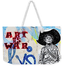 Weekender Tote Bag featuring the photograph Freedom Fighter by Art Block Collections