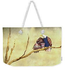 Weekender Tote Bag featuring the photograph Freedom by James BO Insogna