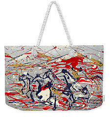 Freedom On The Open Range Weekender Tote Bag by J R Seymour