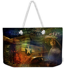 Freedom Plane Four Weekender Tote Bag by Evie Carrier