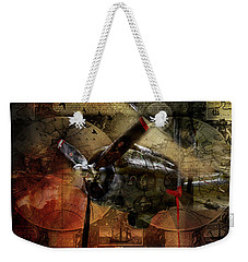 Freedom Plane Two Weekender Tote Bag by Evie Carrier