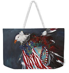 Freedom Rings Weekender Tote Bag