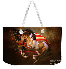 Freedom Run Weekender Tote Bag