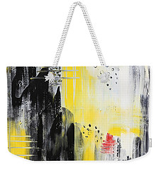 Weekender Tote Bag featuring the painting Freedom by Sladjana Lazarevic