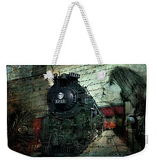 Freedom Train Two Weekender Tote Bag by Evie Carrier
